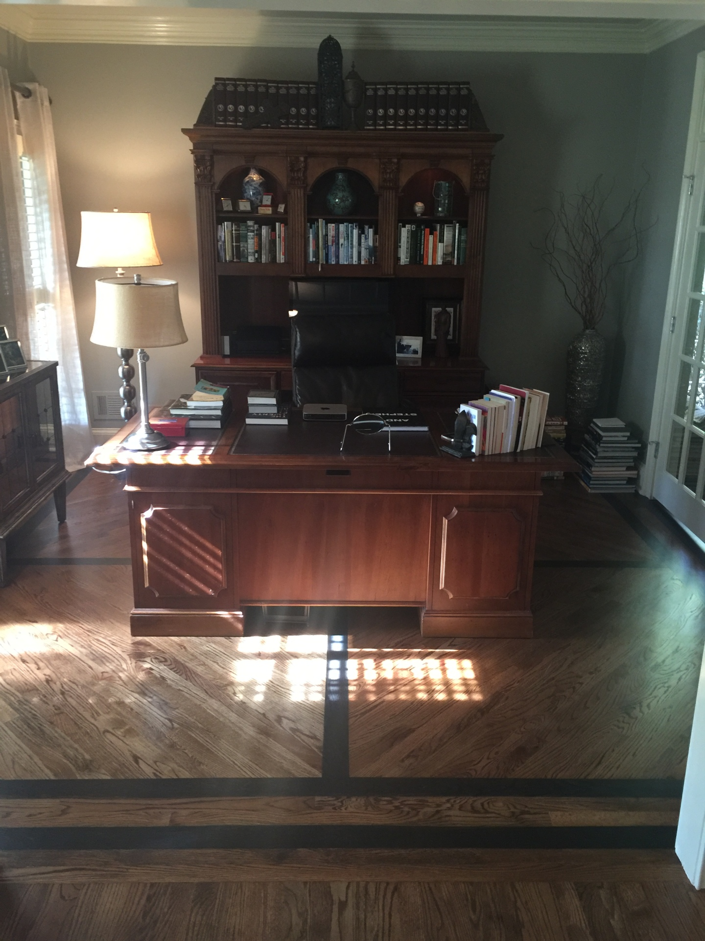 Wright's Office Floor