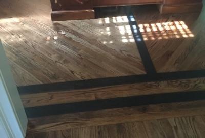 Providencial, Wood Flooring, Ebony Border, flooring, remodel, sand, stain, braselton, georgia, ga, handyman, wood flooring, rip out, gainesville, loganville,