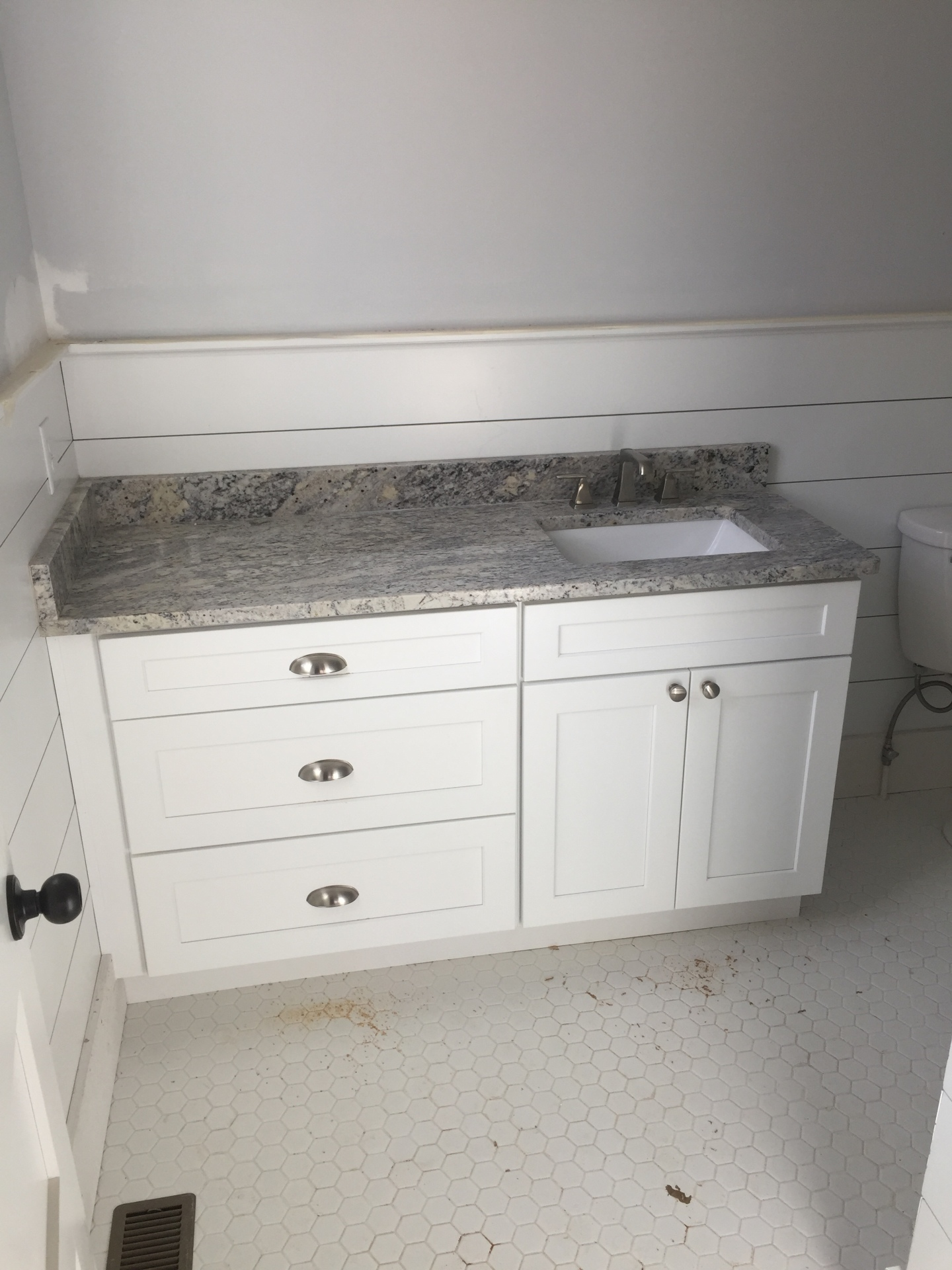 bathroom, cabinets,