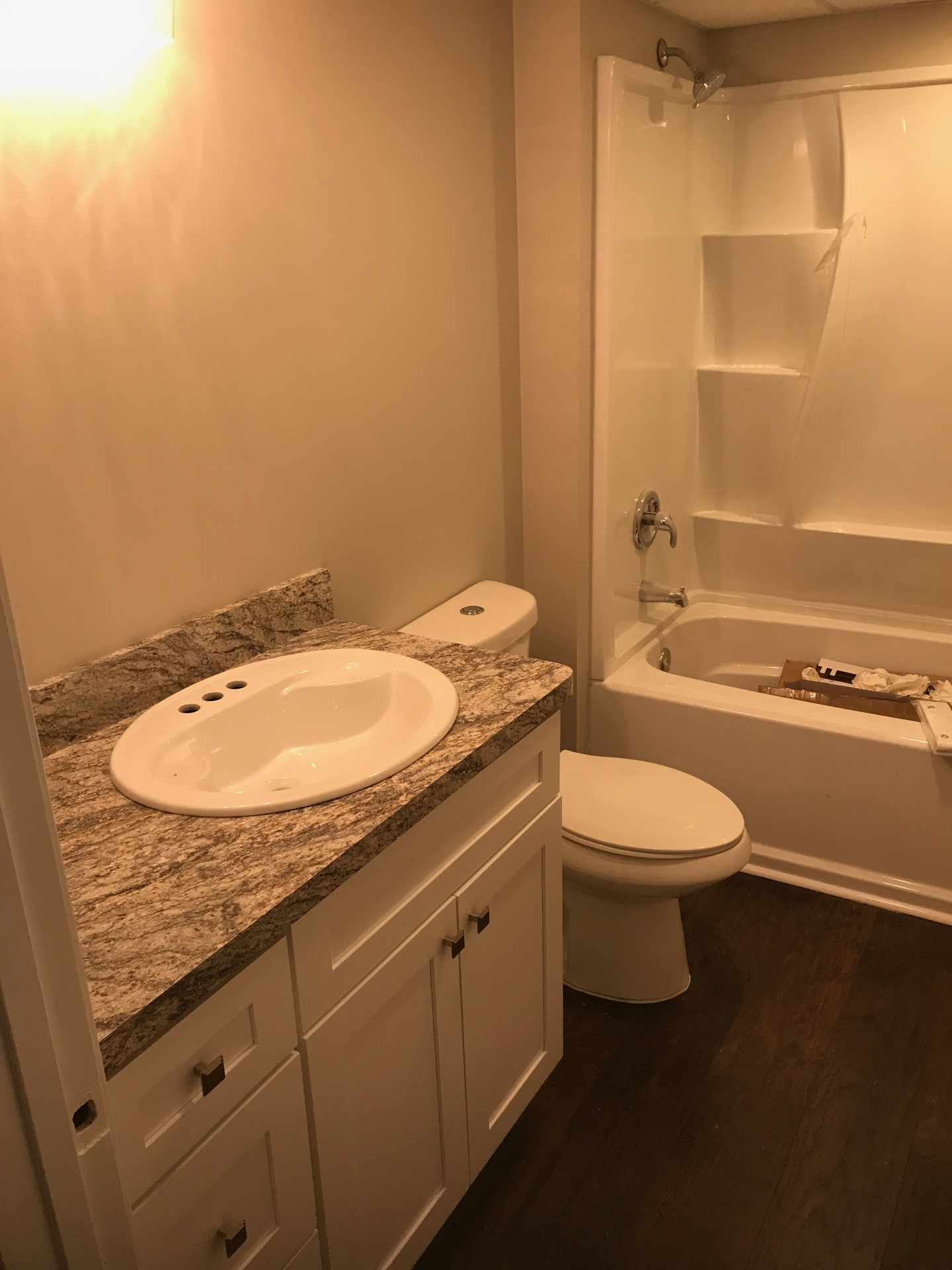basement, bathroom,