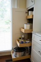 pantry, storage, canisters, dovetail, pullout shelves