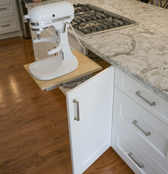 kitchen aid, mixer, under cabinet mount,
