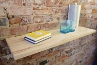 maple, white, floating, shelf, shelves, gainesville, hall, atlanta,