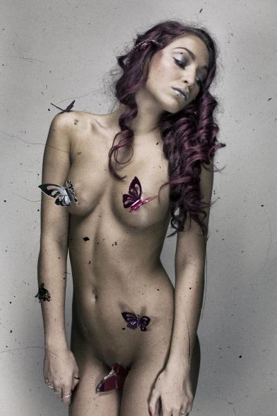 Angelina in Butterflies - Angleina
