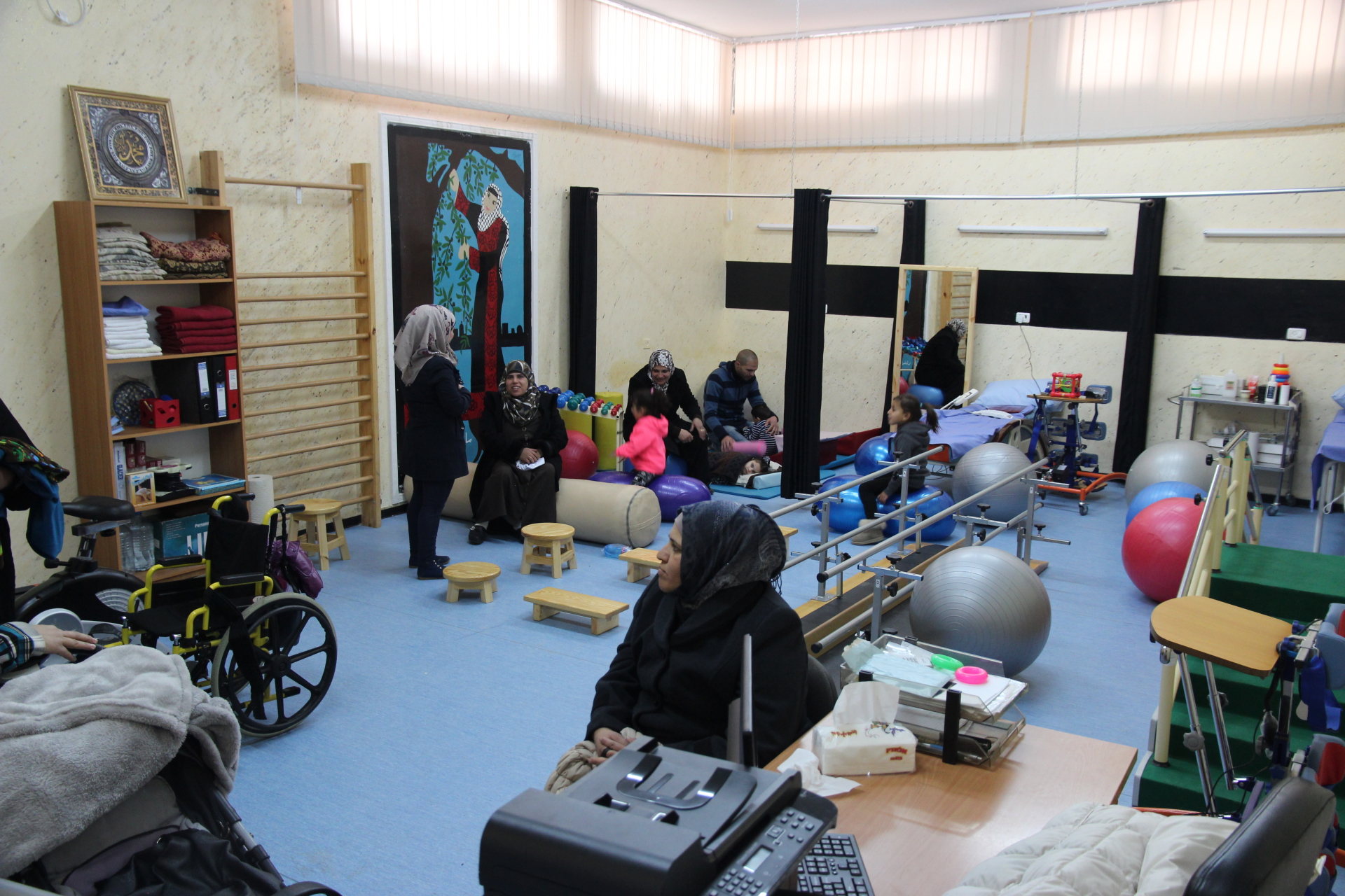 Projects Physiotherapy Refugee Camps Palestine