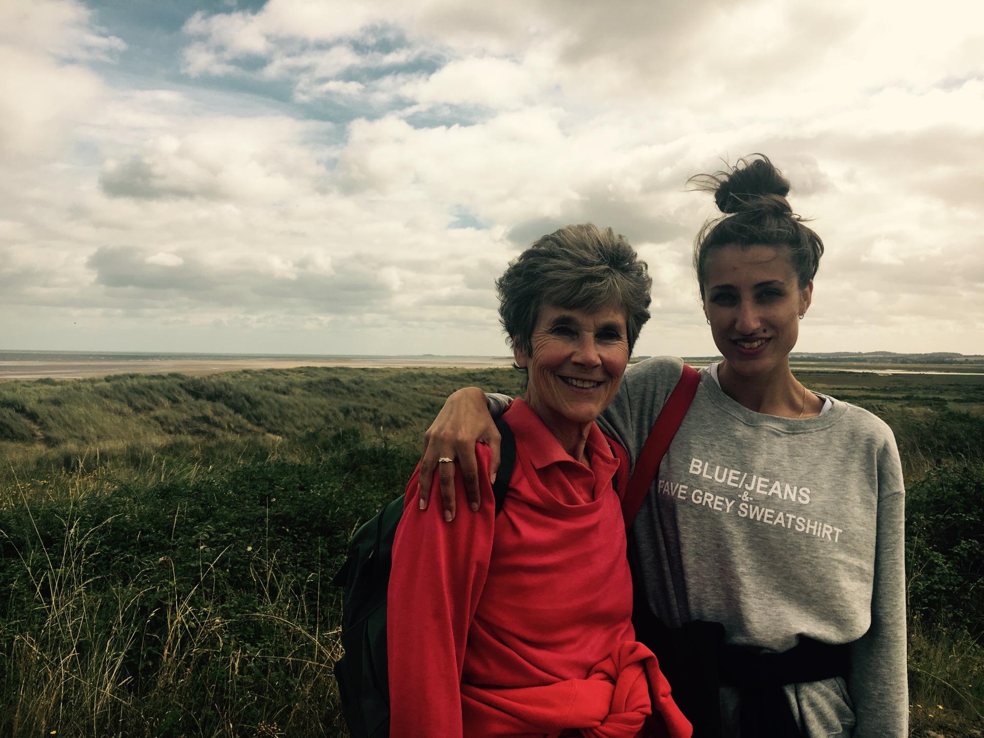 Lynne and Hannah's ABCD Walk