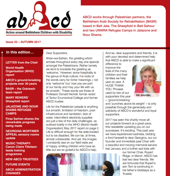 ABCD Autumn Newsletter