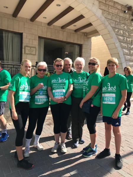 running charity sponsorship bethlehem palestine