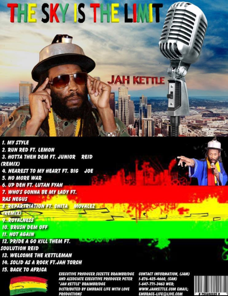 We are going to INTRODUCE YOU TO JAH KETTLE