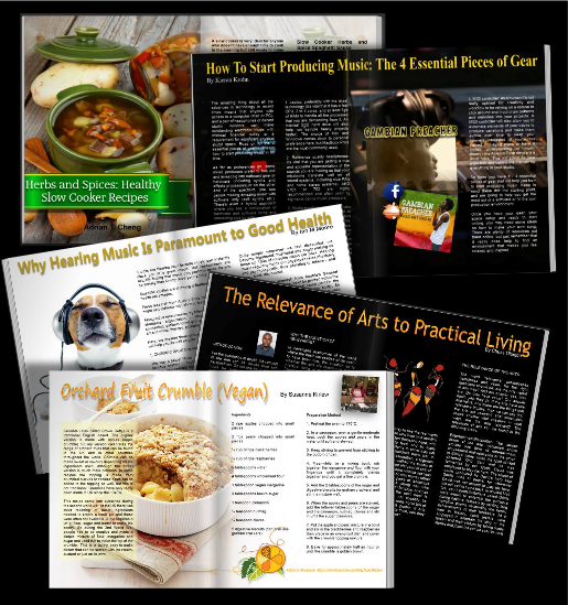 MANY MORE ARTICLES AND RECIPES  TO KEEP YOU ENTERTAINED