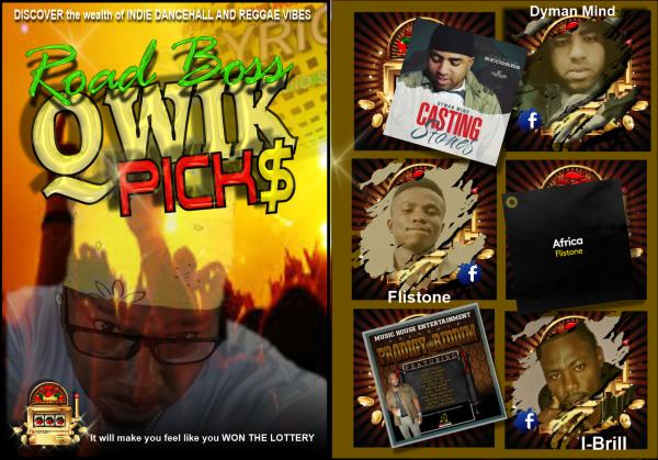 THE DJ THROWS DOWN QWIK PICS