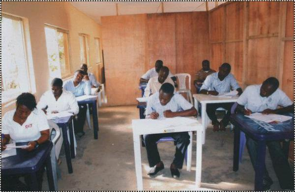 Professional Students in  Examination Room