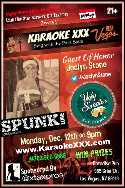Go to KaraokeXXX.com for details 12/12/16