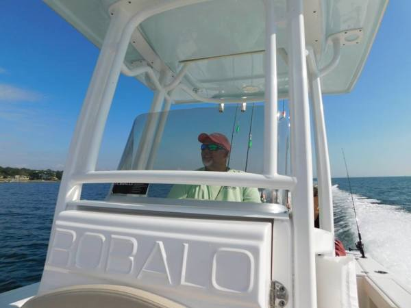 Captain Mike in the Santa Rosa Sound