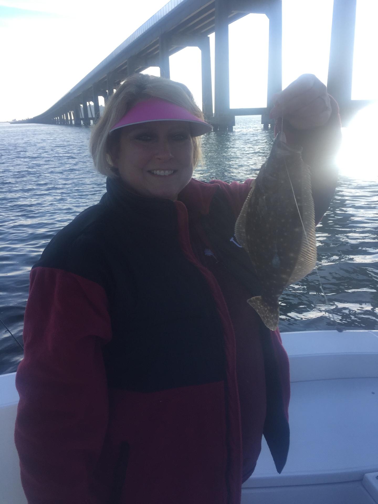 Nice flounder from Navarre FL