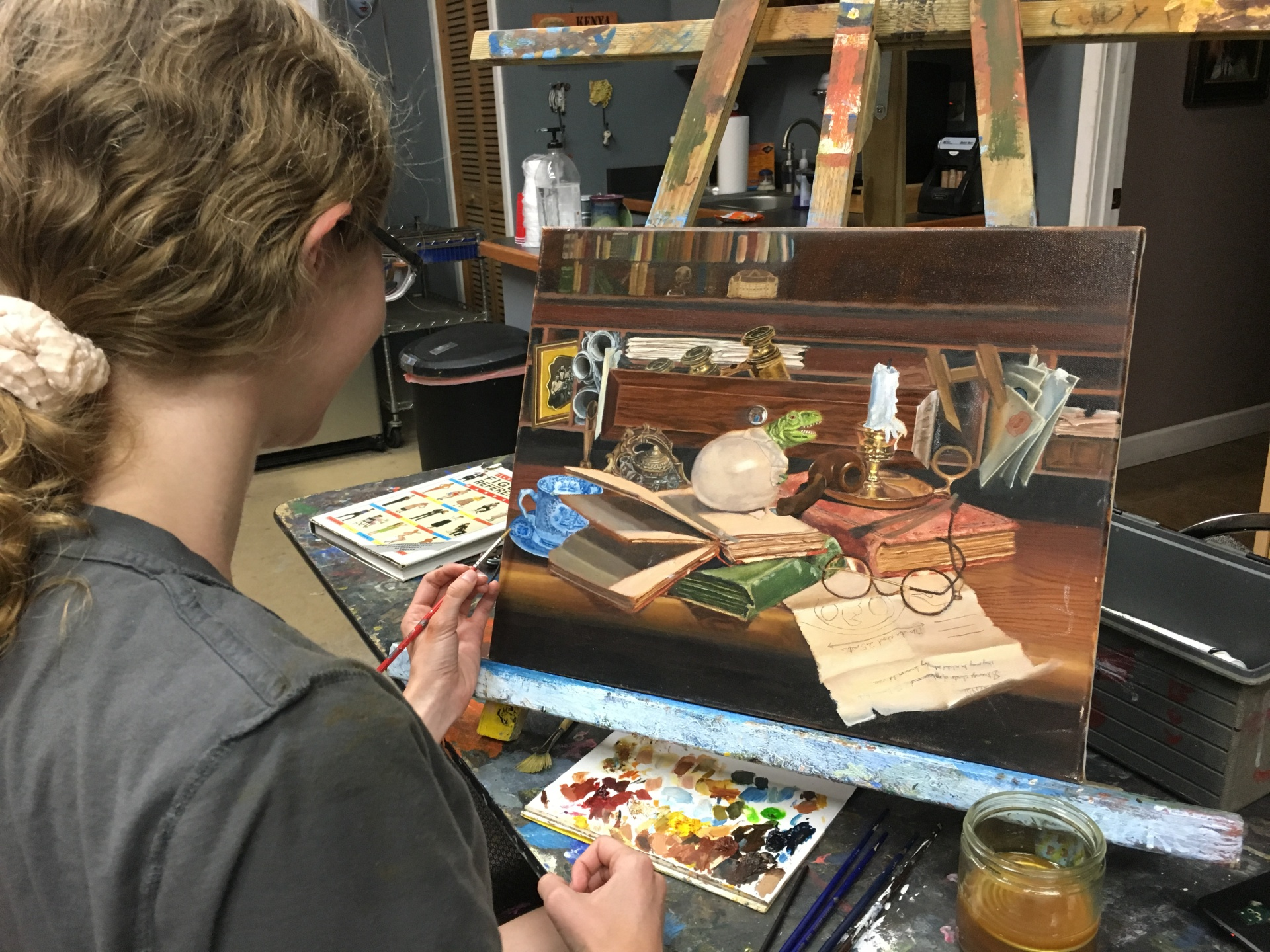 Oil painting for teens