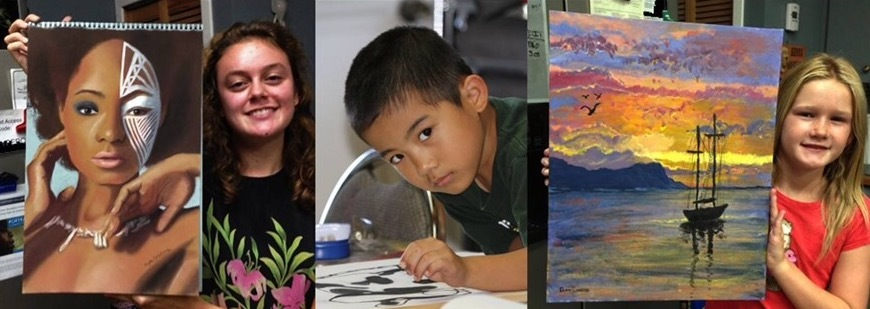 Art instruction for gifted and talented children, teens, and adults