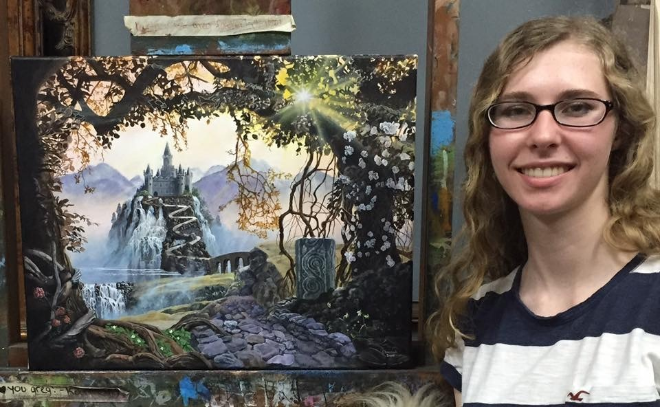Painting classes for teens