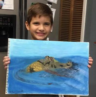 Children's drawing class