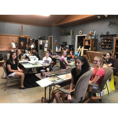 Class at the ArtQuest School