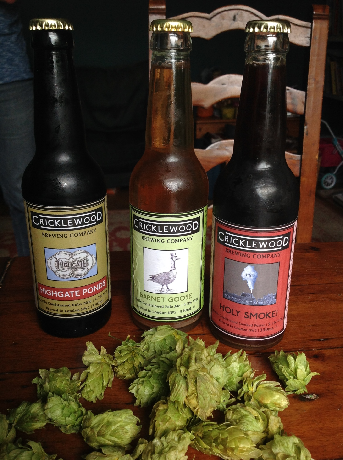 The littlest brewer in the North -finally, Cricklewood has its very own brewery!