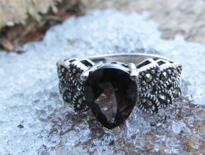 LORDS AND LADIES - Enchanted Ring - Noble Strength, Bravery, Honor, Fierce Warrior, Protected, Guarded, Unbroken