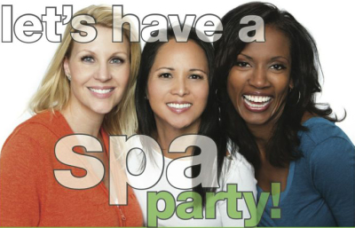 Spa Parties