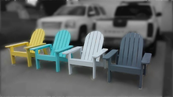 Adirondack Chairs - Color