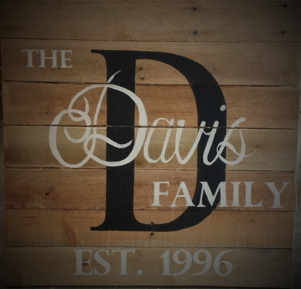 Custom Family Sign