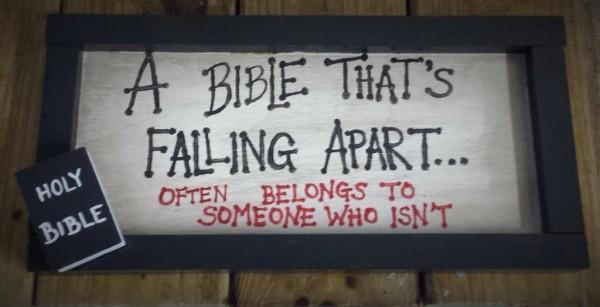 Bible Sign