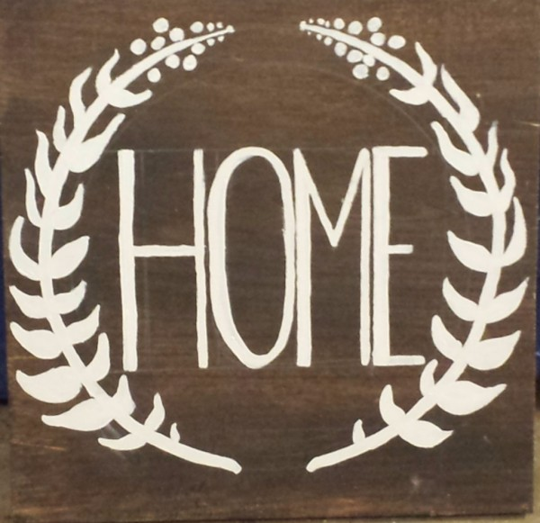 """""""Home"""" Sign"""