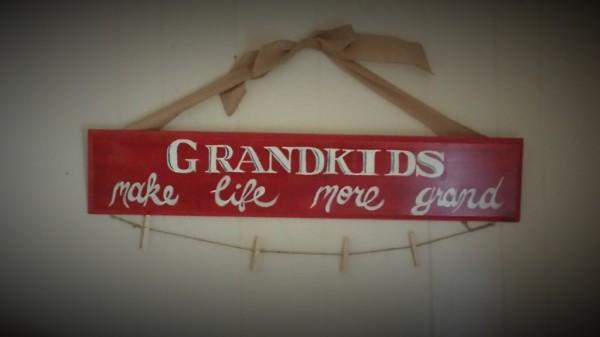 """Grandkids"" Sign"