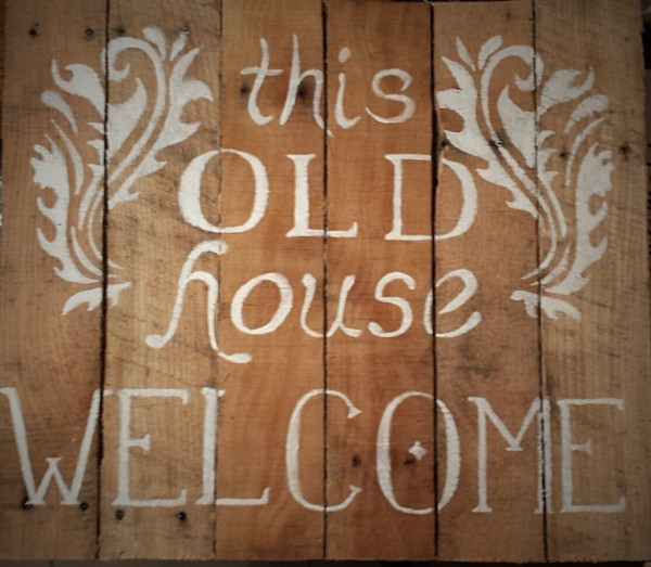 """""""This Old House"""" Sign"""