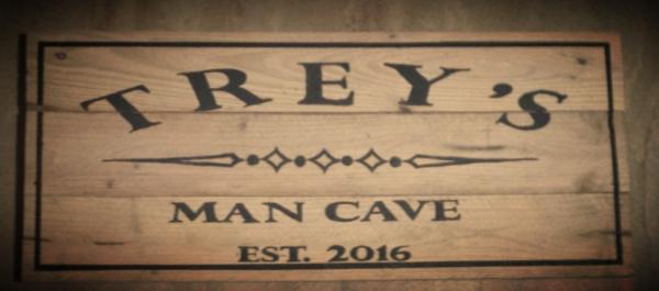Custom Man Cave sign