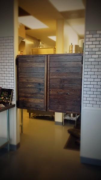 Saloon style doors