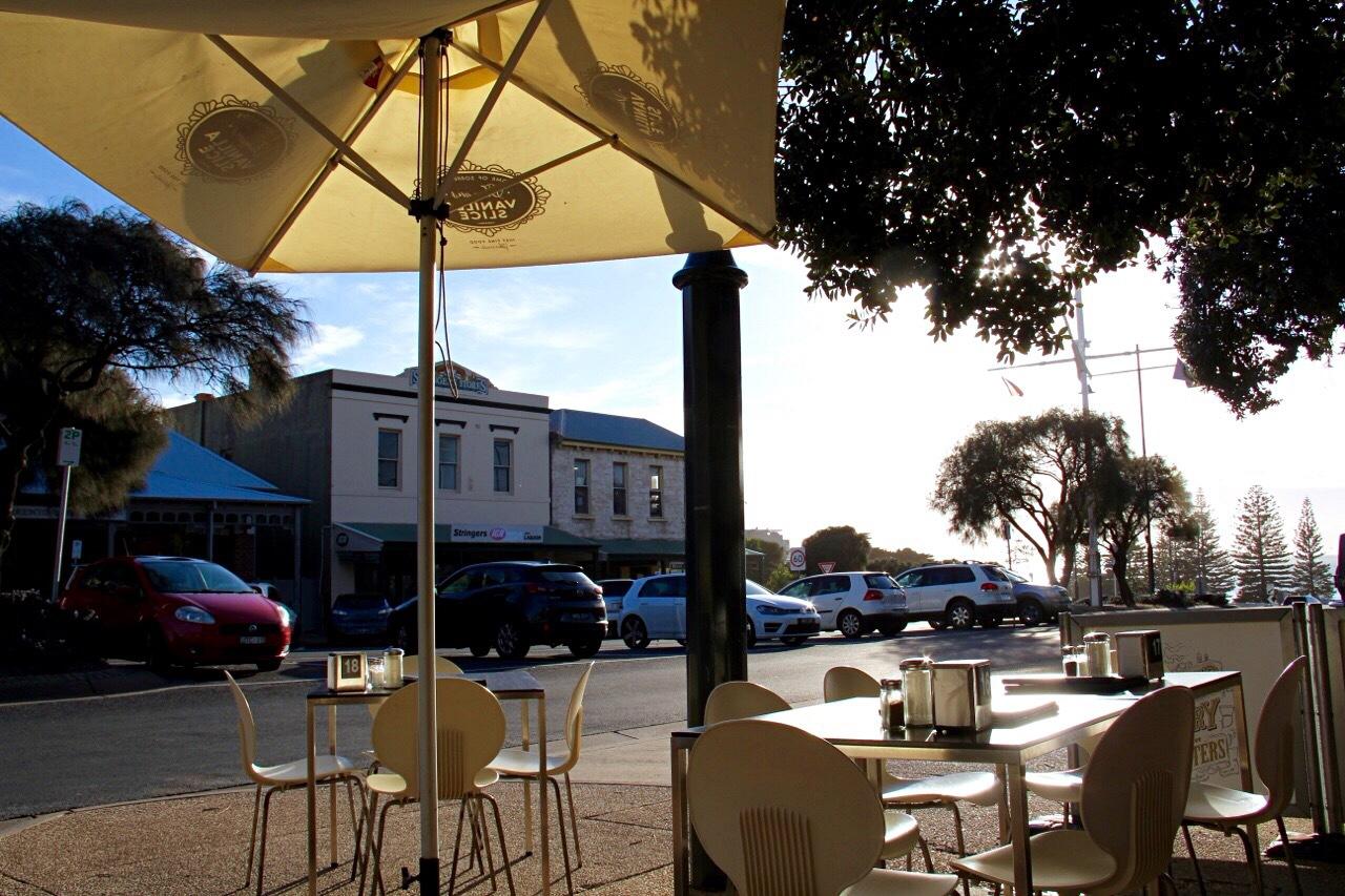 Outdoor Area overlooking Port Phillip Bay