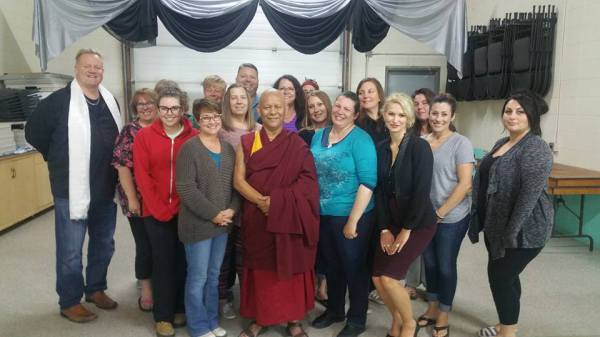 Meditation with a Tibetan Monk