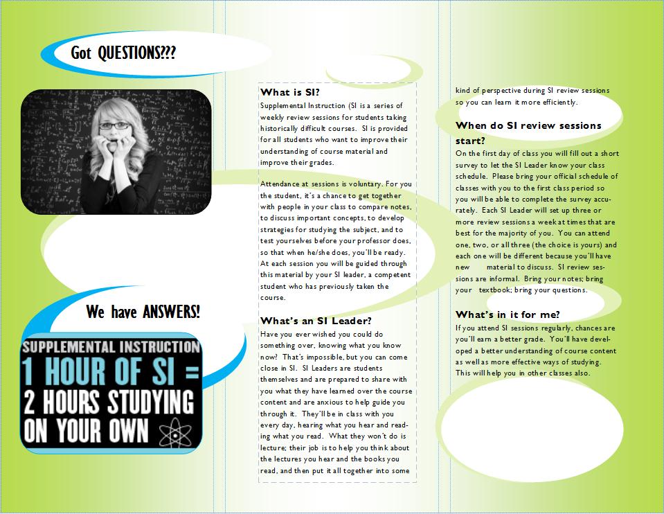 CHE-2A SI Session Brochure (back)