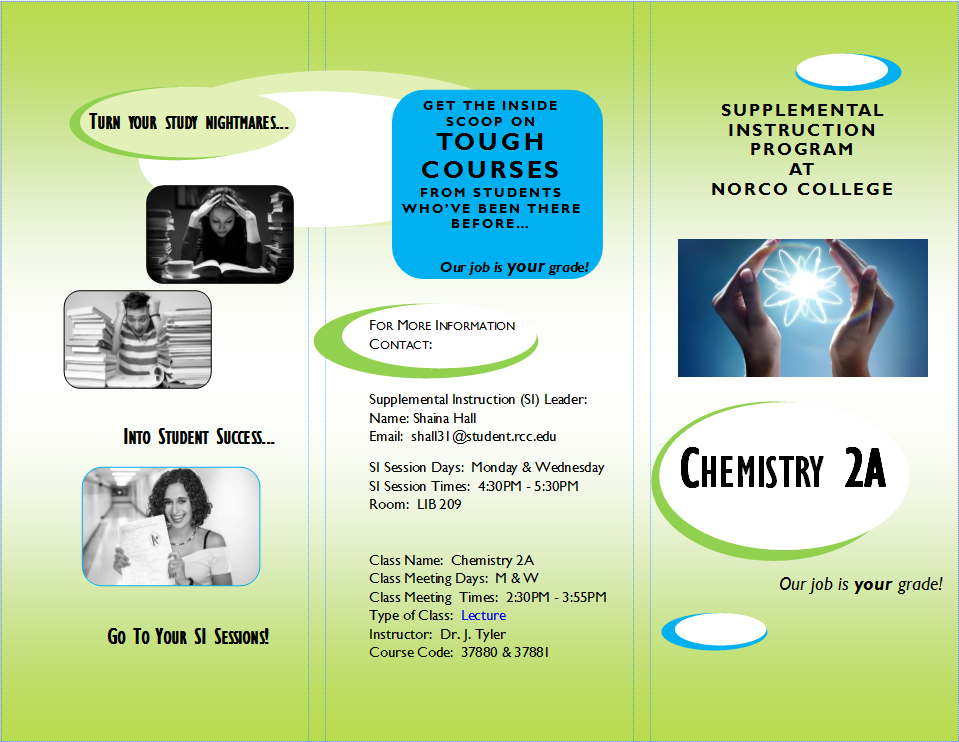 CHE-2A SI Session Brochure (front)