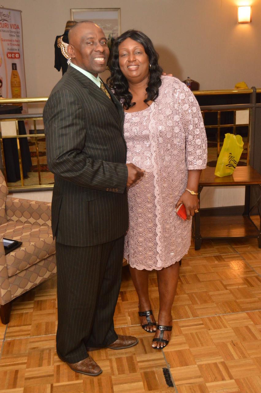 Ambassador Chudi & Mrs. C. C Emodi