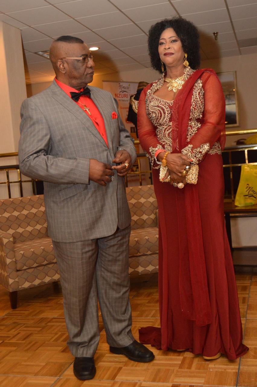 Mr. Sunny & Mrs. Vivian Onyeije