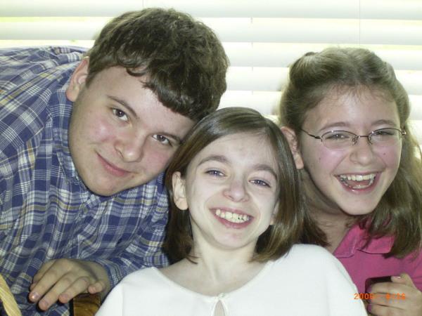 Andrew, Amber, Mary