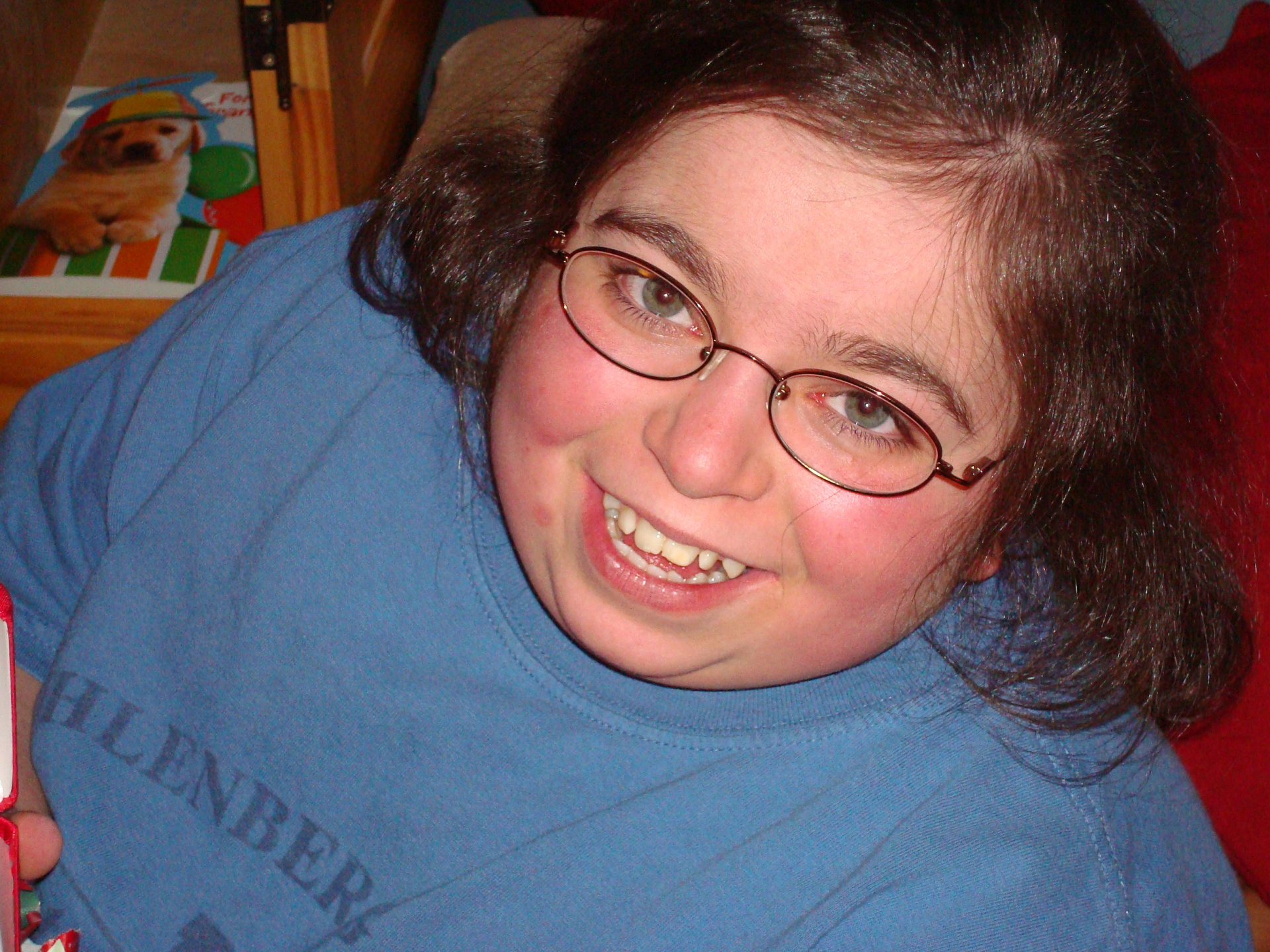 Amber and her beautiful smile