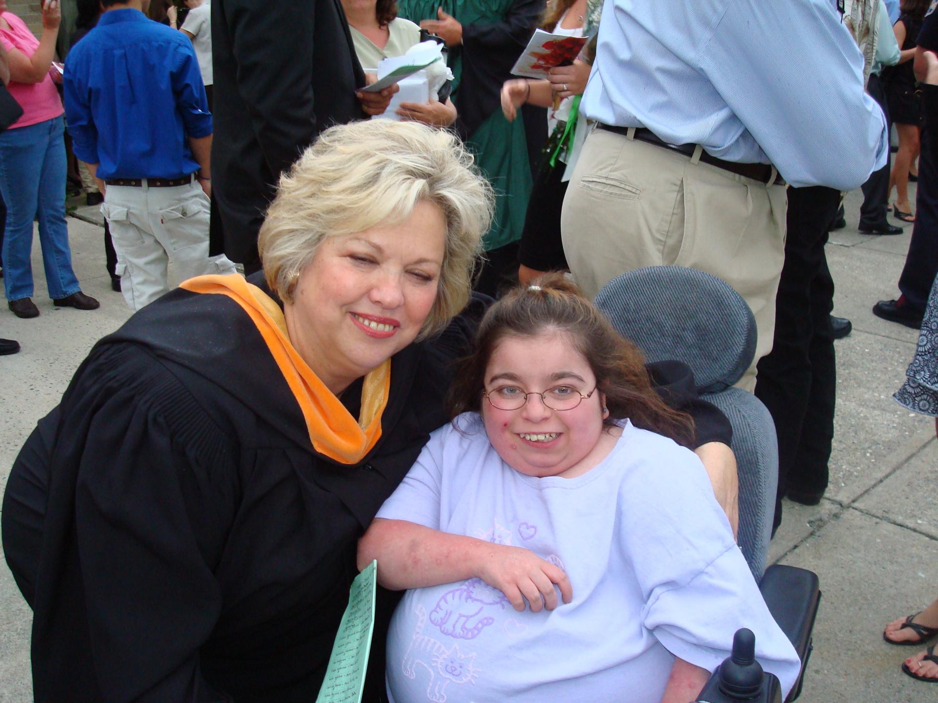 Karin Curcio and Amber at PAAHS graduation