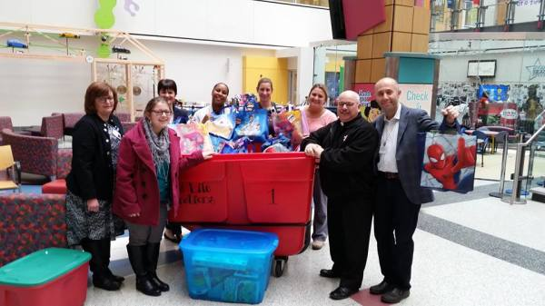 Operation Amber Christmas 2016, Gifts for 51 kids!