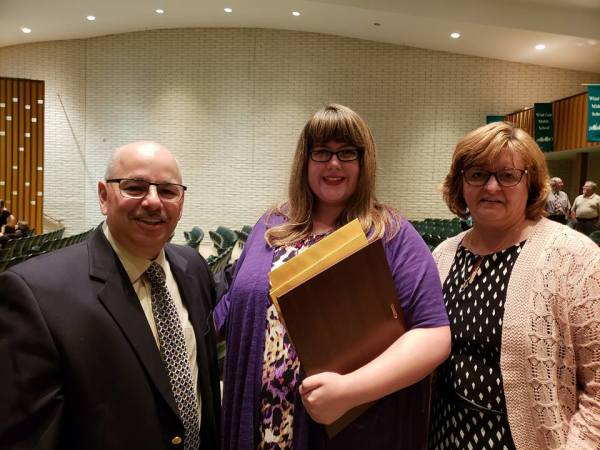 2018 Amber Louise Elchert Scholarship Winner