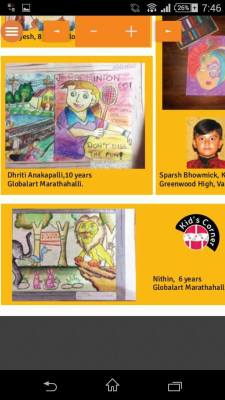 Children art feature