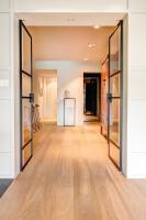 fraam stalen ramen en deuren binnendeur dubbel opendraaiend + vast raam