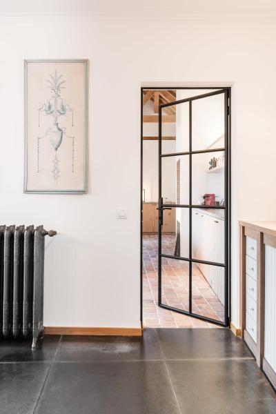 stalen ramen en deuren binnendeur