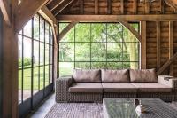 fraam stalen ramen en deuren samenvouwende stalen buitendeur enkele beglazing + vast raam
